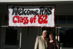 Joyce Lund Swedean and Dick Swedean Arrive at Minnesota Valley for the 50th