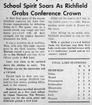 A Great Football Season (11/8/61 - 5)