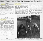 A Few Reasons for the Great Football Season (11/8/61 - 6)