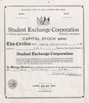 Stock Certificate - 50 Cents
