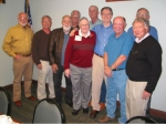 Team Members: Jim Mitchell, Mark Gaertner, Steve Saunders, Mike Casey, Coach Collison, Ed Byhre, Russ Eliason, Rick Henk