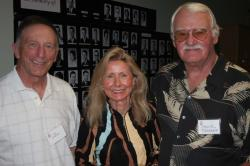 Don Kabunde and Pam & Chuck Torrence